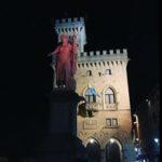 Сан-Марино под луной
